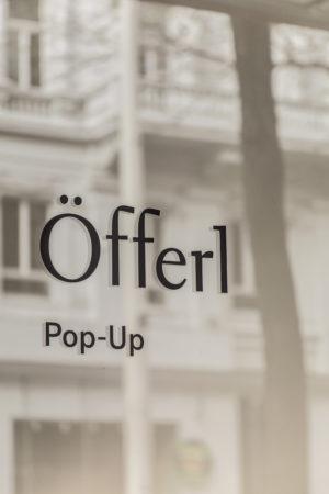 Oefferl Pop Up Mariahilferstrasse Logo Sticker